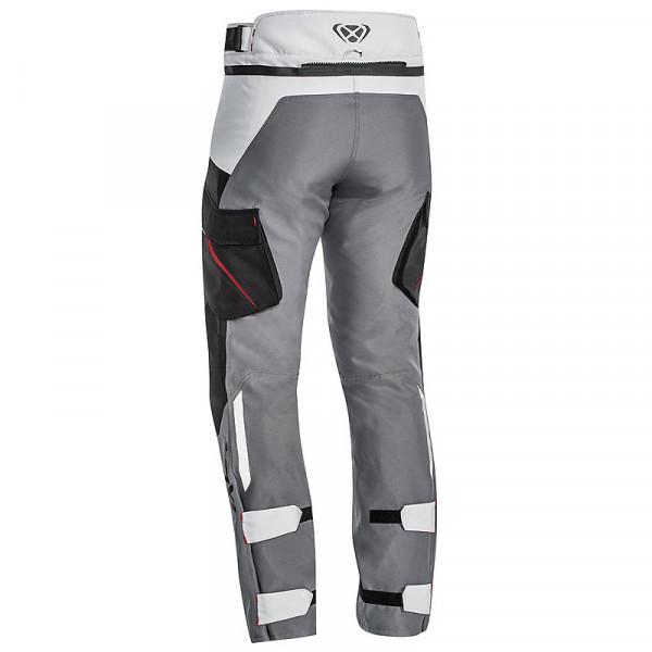 Pantaloni moto Ixon SICILIA Nero Grigio Rosso