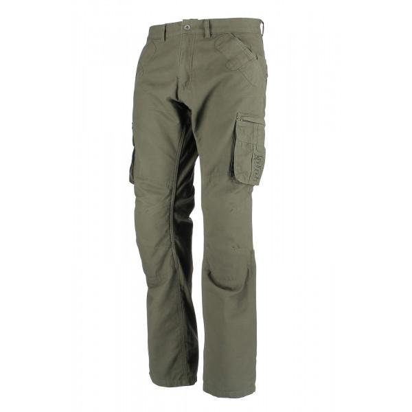 Pantaloni moto OJ Cargo verdi