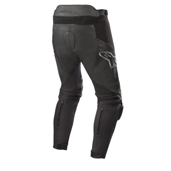 Pantaloni moto pelle Alpinestars SP X PANTS nero nero