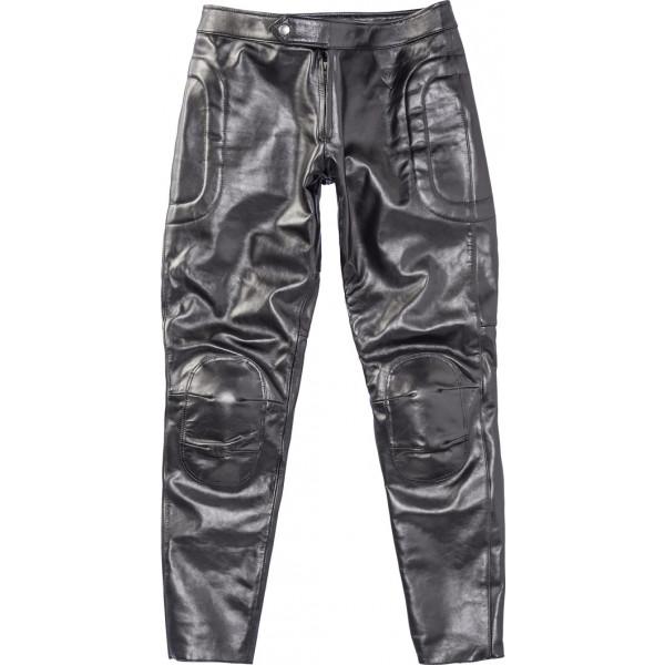 Pantaloni moto pelle Dainese72 PIEGA72 Nero