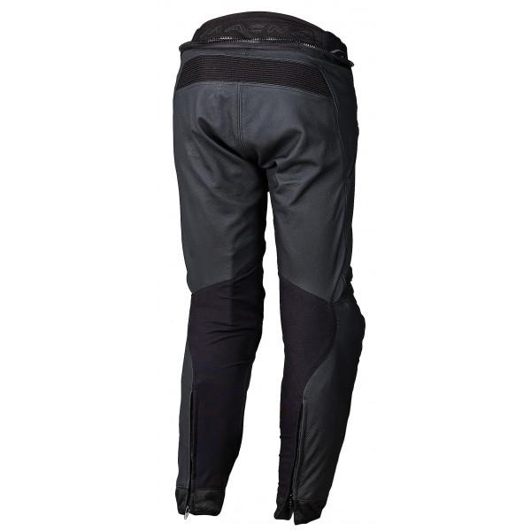 Pantaloni moto pelle touring Macna Commuter nero