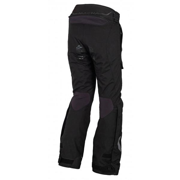 Pantaloni moto touring Macna Fulcrum WP 3 strati nero