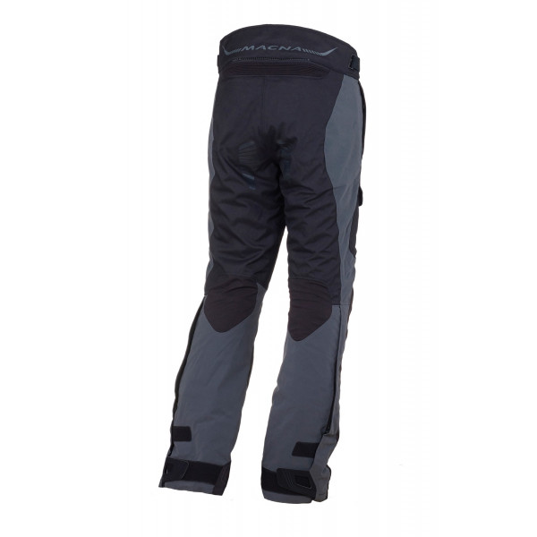 Pantaloni moto touring Macna Fulcrum WP 3 strati Night Eye scuro