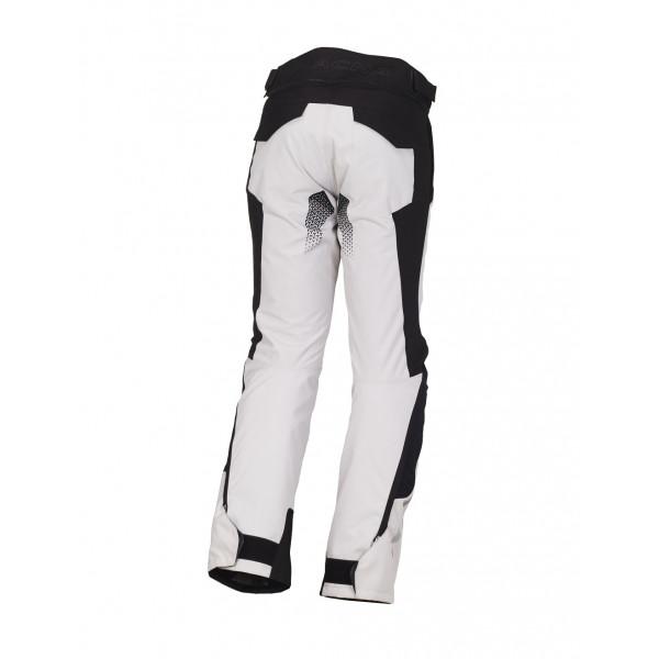 Pantaloni moto touring Macna Iron WP grigio chiaro nero
