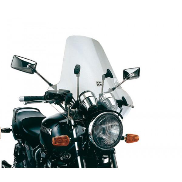 Parabrezza Kappa 620A universale trasparente con 4 punti di fissaggio