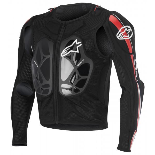 Pettorina protettiva Alpinestars Bionic Pro nero rosso bianco