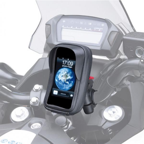 Porta smartphone da manubrio Kappa KS955B 67x130mm