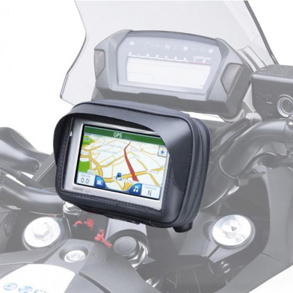Porta smartphone o navigatore da manubrio Kappa per schermi fino a 3,5 pollici