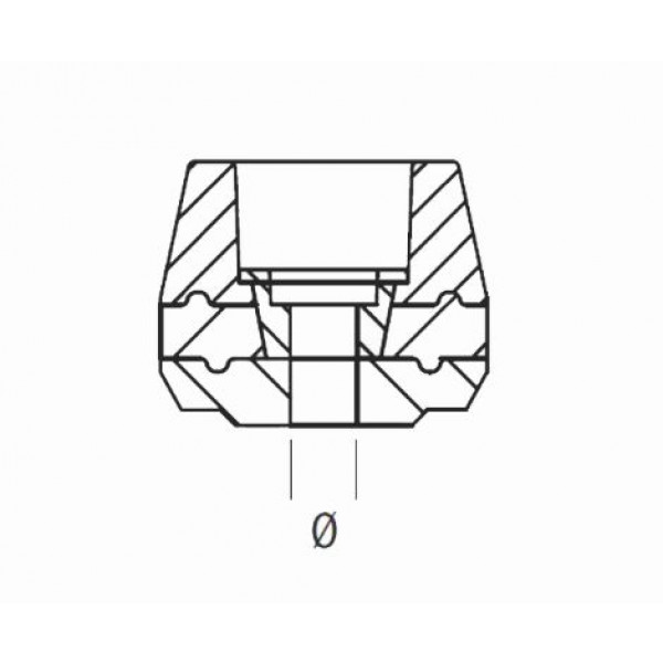 Ricambio tampone per protezioni telaio Lightech boccole diametro 10