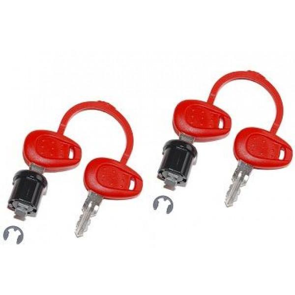 Ricambio z227 Givi coppia chiavi con boccola