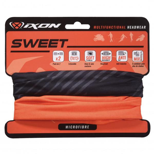 Scaldacollo Ixon SWEET XLOGO nero arancio