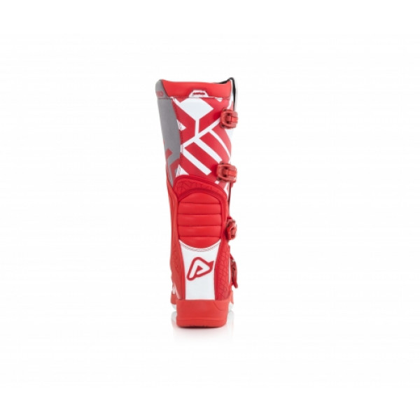 Stivali cross Acerbis X-Team Rosso Bianco