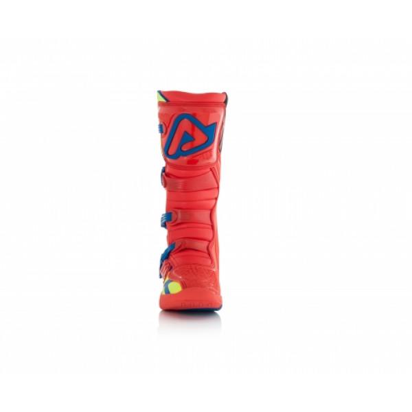 Stivali cross Acerbis X-Team Rosso Giallo
