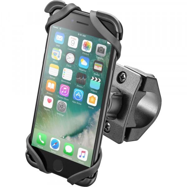 Supporto porta IPhone 7 Cellular Line Moto Cradle per manubri tubolari
