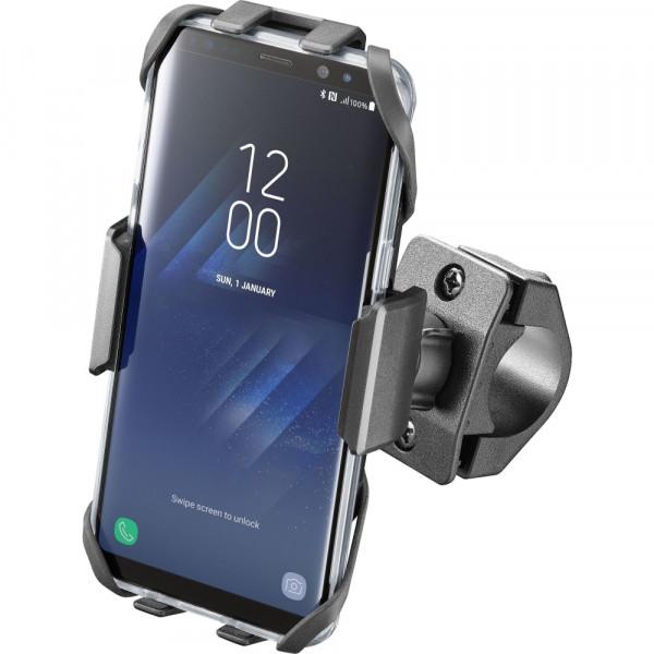 Supporto porta Smartphone Cellular Line MOTO CRAB Universale per manubri tubolari