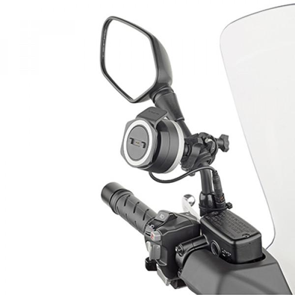 Supporto universale Kappa per Tom Tom Rider per tubolari tra 8 e 35mm