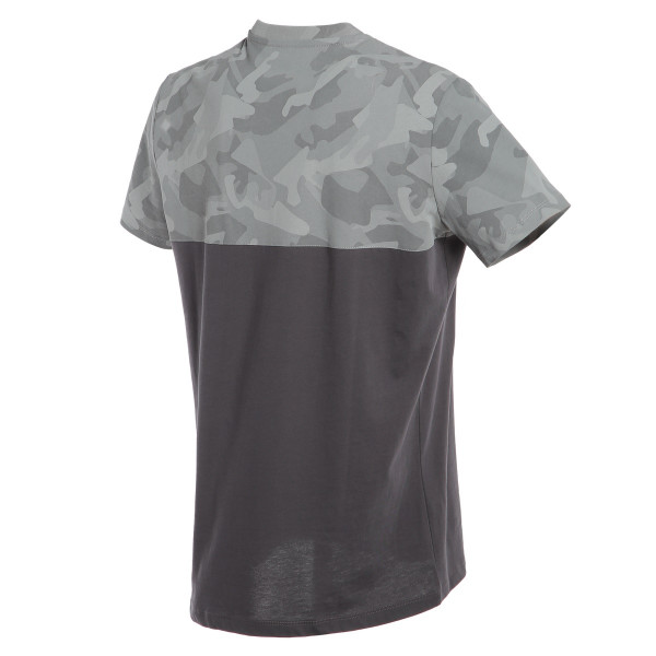 T-shirt Dainese CAMO-TRACKS Antracite Antracite