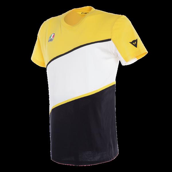 T-shirt Dainese King K giallo nero