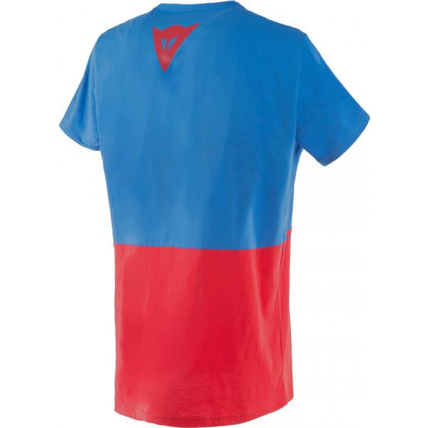 T-shirt Dainese LAGUNA SECA Blu cobalto Rosso