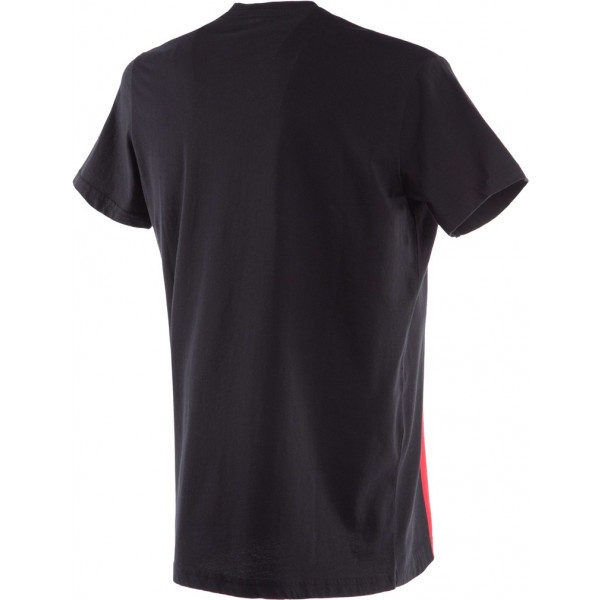 T-shirt Dainese RACER-PASSION Nero Rosso