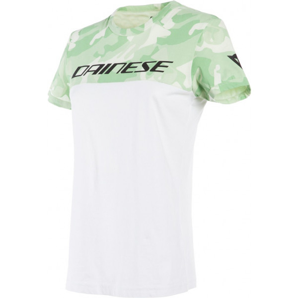 T-shirt donna Dainese CAMO-TRACKS LADY Bianco Camo