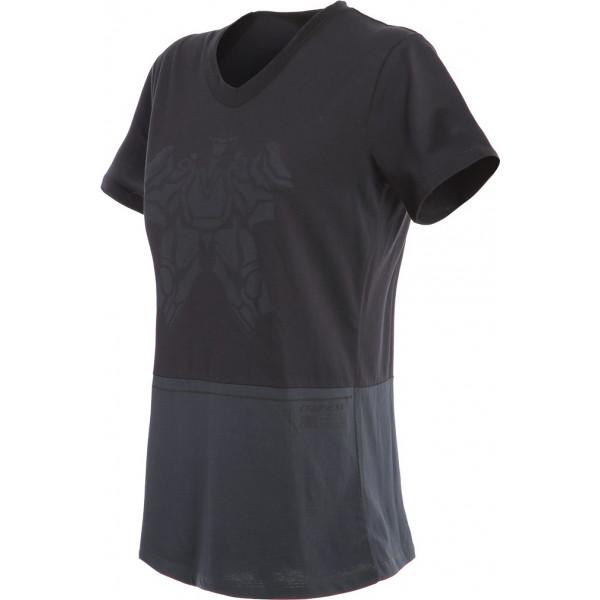 T-shirt donna Dainese LAGUNA SECA LADY Nero Antracite