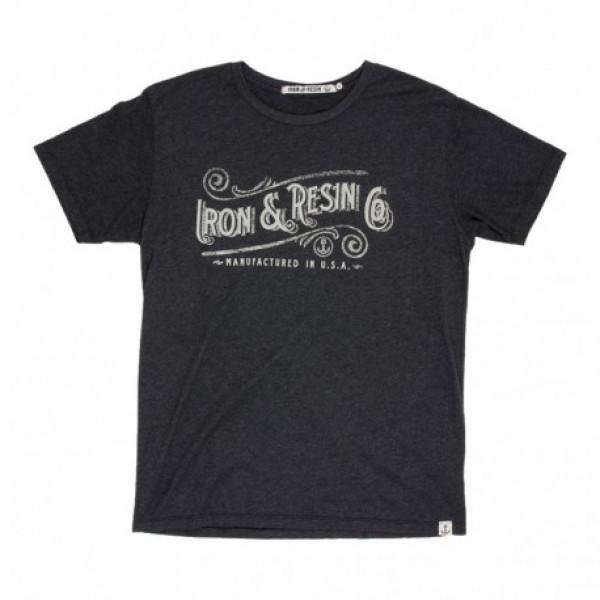 T-Shirt Iron e Resin Chattahoochie grigio carbone