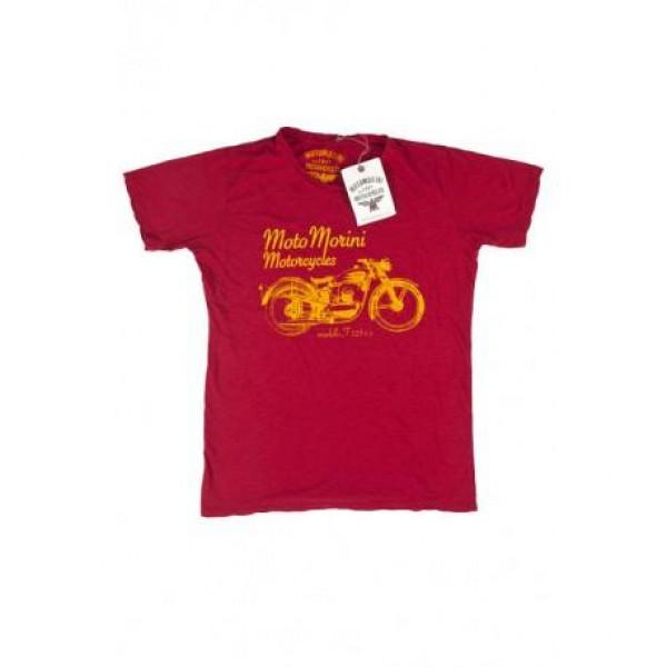 T-shirt Moto Morini 125 rosso