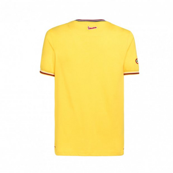 T-shirt Vespa Modernist Giallo