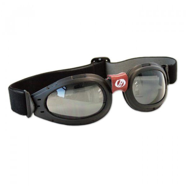 Occhiali moto Baruffaldi Tan nero lente chiara
