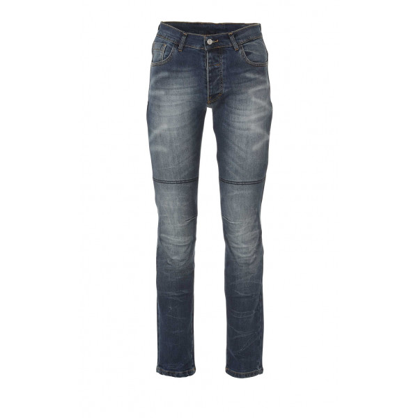 Jeans moto Befast Ultron con protezioni alle ginocchia e Fibra Aramidica Blu
