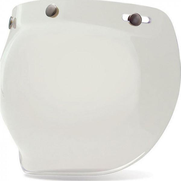 Visiera chiara bubble 3 bottoni BELL per caschi Custom 500