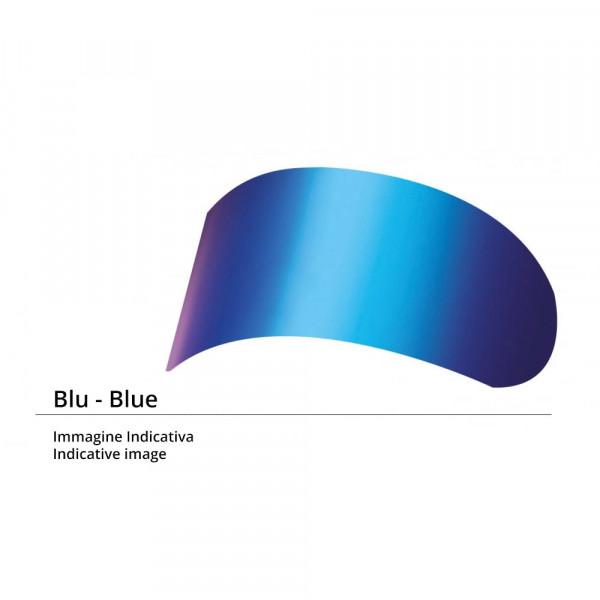 Visiera iridium blu Kyt per casco NF-R