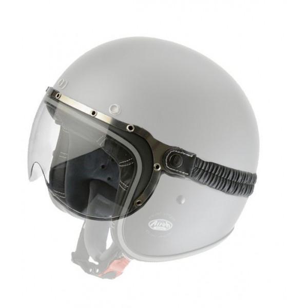 Visiera occhiale con elastico  Airoh Antigraffio per casco RIOT GARAGE chiara