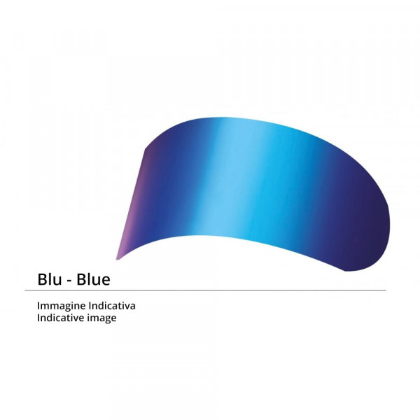 Visiera per Nolan N20 blu metalizzato per calotte da XXS a M