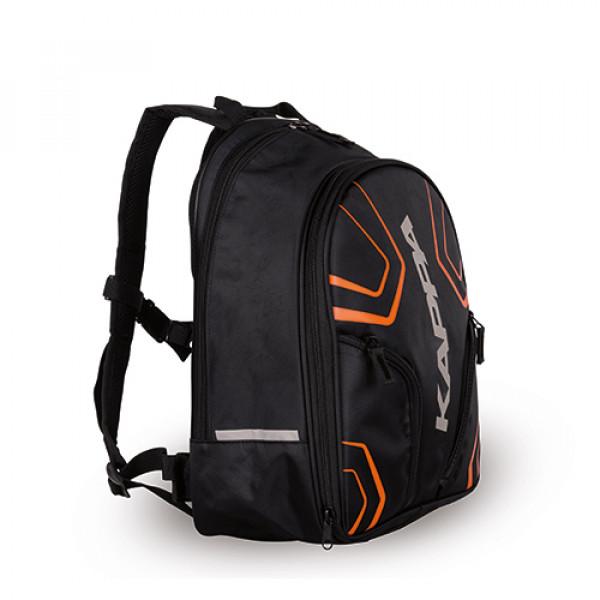 Zaino Kappa LH210 20 litri nero arancio