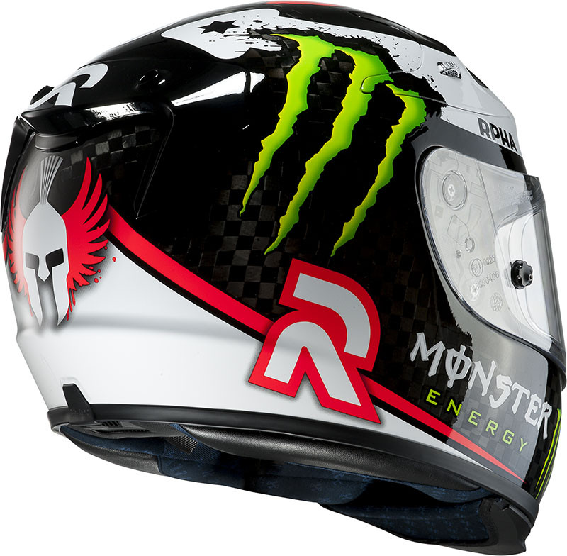 Casco integrale HJC RPHA 10 Plus Carbon Lorenzo MC1