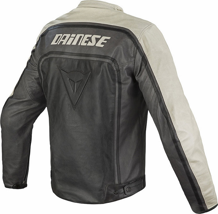 giacca in pelle dainese vintage