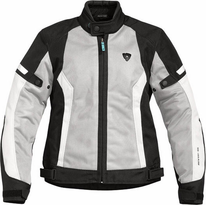 argento moto nero Airwave Rev'it estiva Giacca donna Ladies fqF0OR