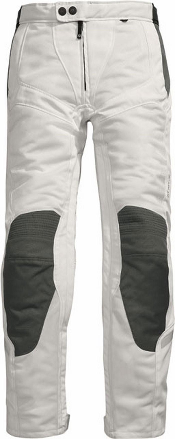 new concept e4932 59e68 Pantaloni moto donna estivi Rev'it Airwave Ladies bianco-antraci