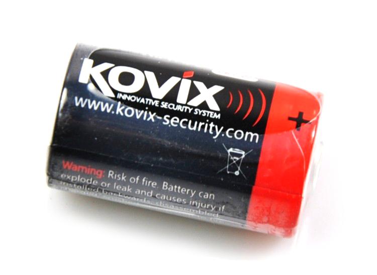 Batteria a litio Kovix CR2 lunga durata