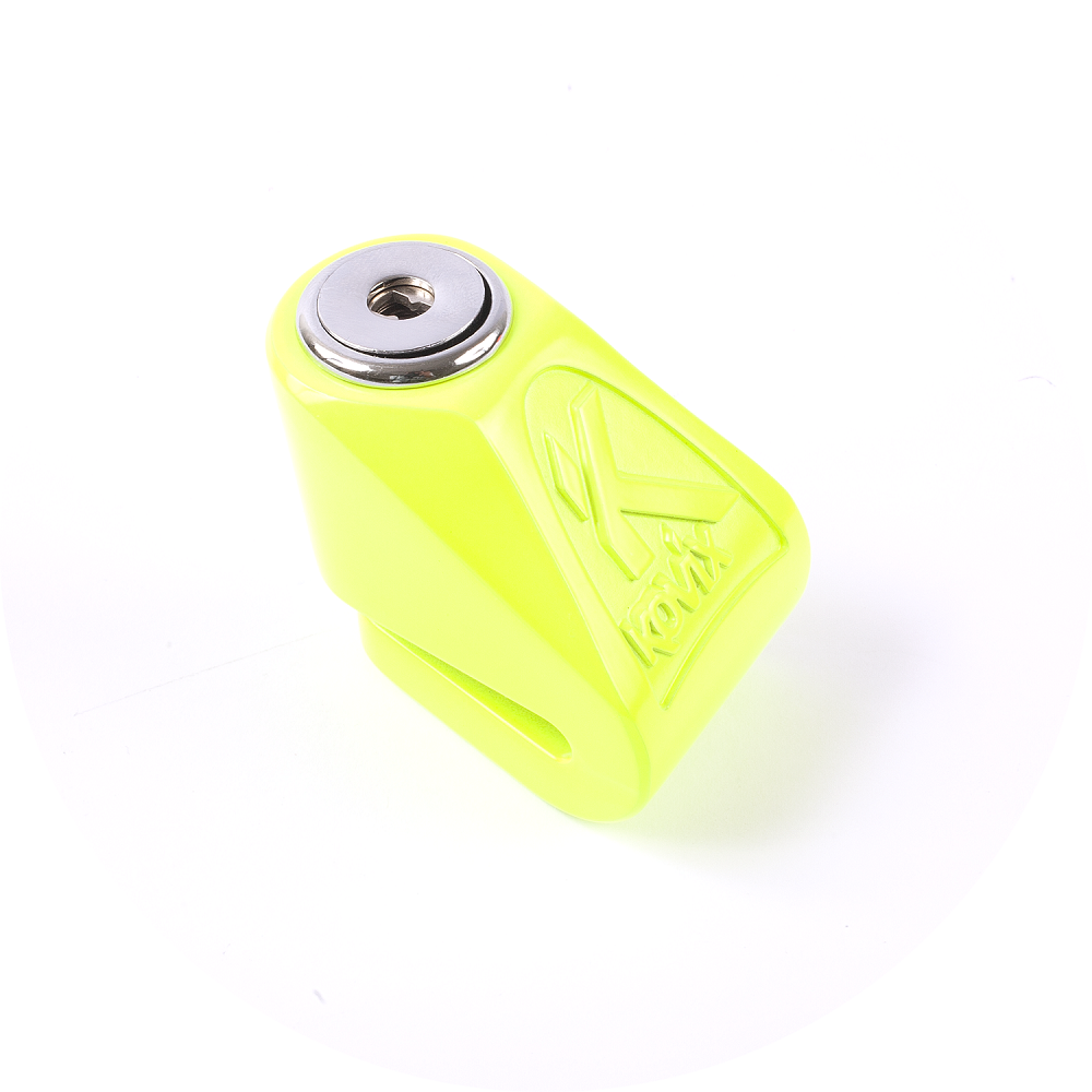 Bloccadisco mini Kovix kn1 perno 6mm verde fluo
