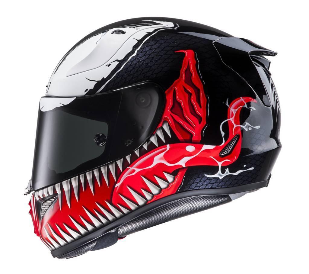 Casco integrale HJC RPHA 11 Marvel Venom MC1 Nero Rosso Bianco. prev c2aeb3013a04