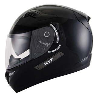 Casco integrale KYT Venom Plain nero