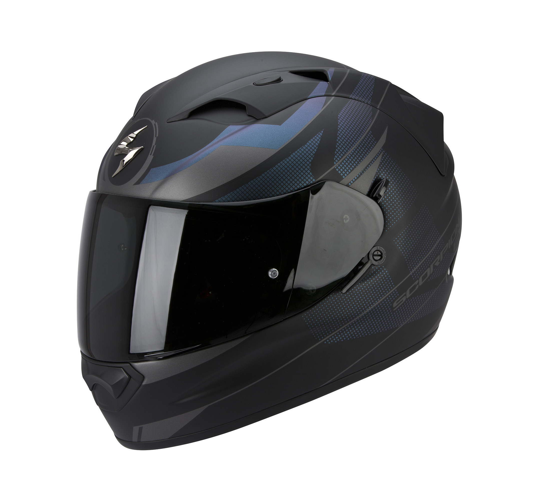 casco integrale scorpion exo 1200 air fulmen in fibra nero. Black Bedroom Furniture Sets. Home Design Ideas