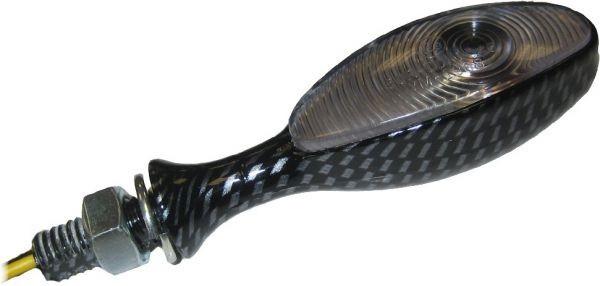 Coppia frecce omologate Sifam CLI7007 sottili in acciaio cromato