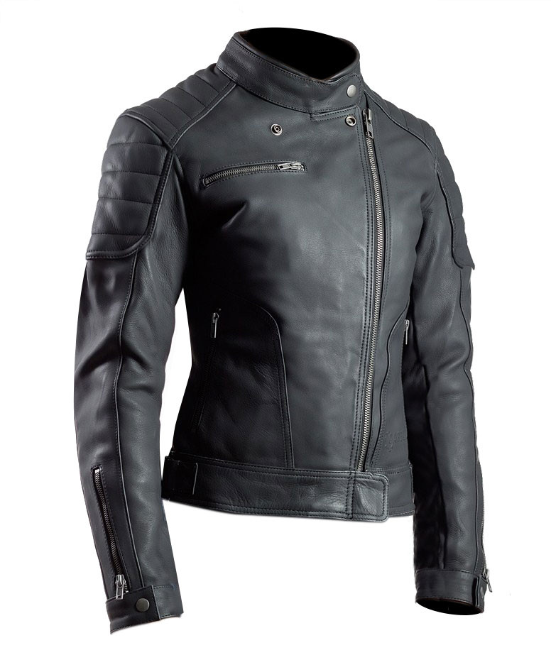 new arrival ae383 f6464 Giacca moto donna pelle Carburo Adon Lady Nero