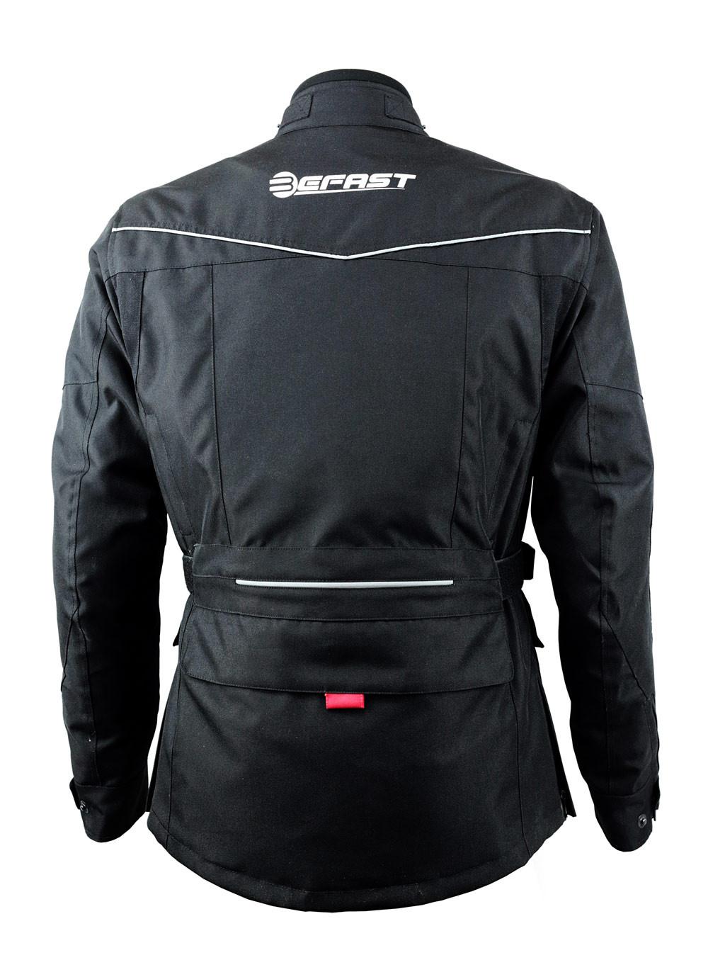 giacca moto touring befast four climath 4 stagioni nero