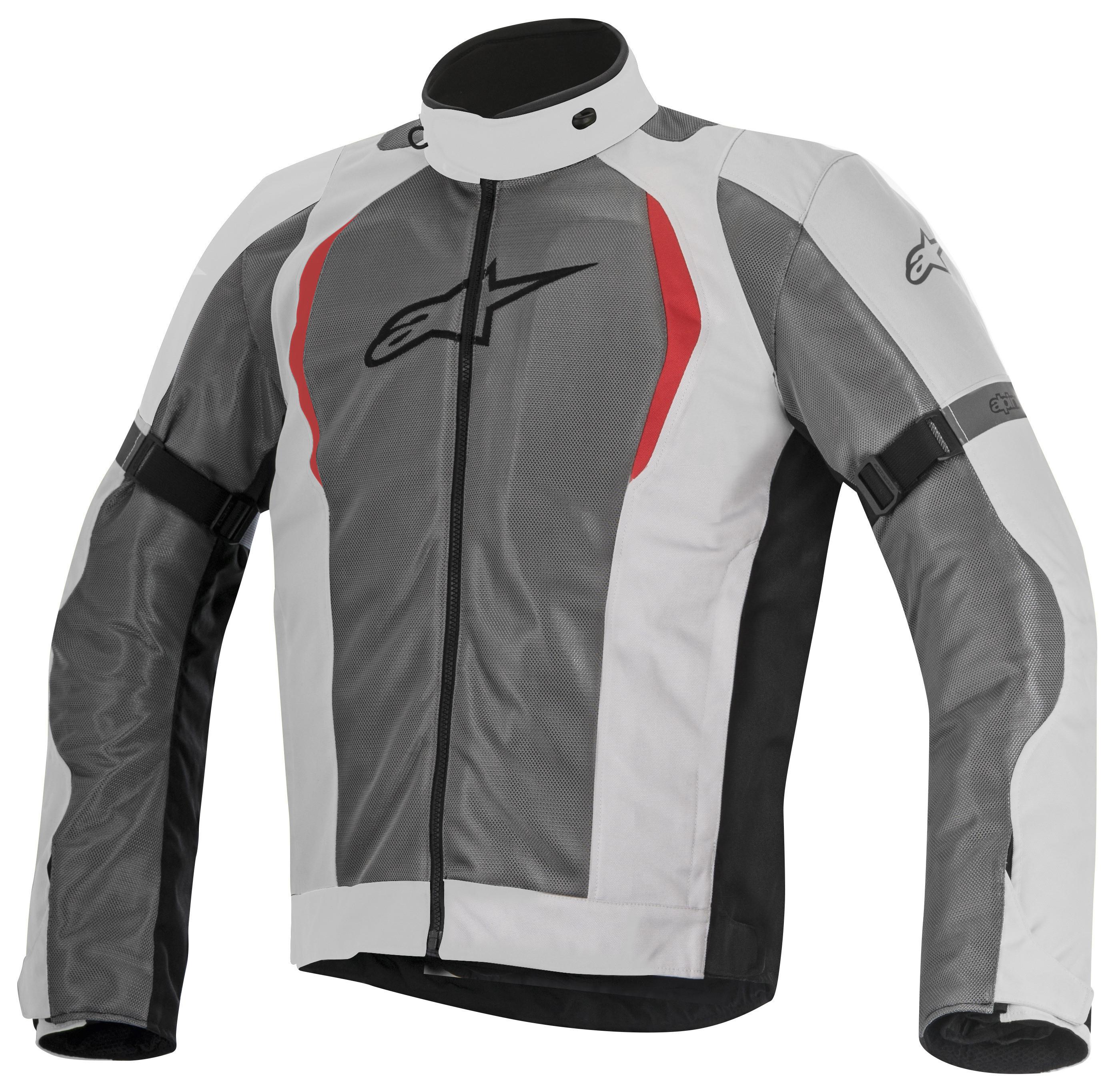 aspetto dettagliato f1de0 c7d7c Giacca moto Alpinestars Amok Air Drystar 3 strati grigio chiaro grigio scuro