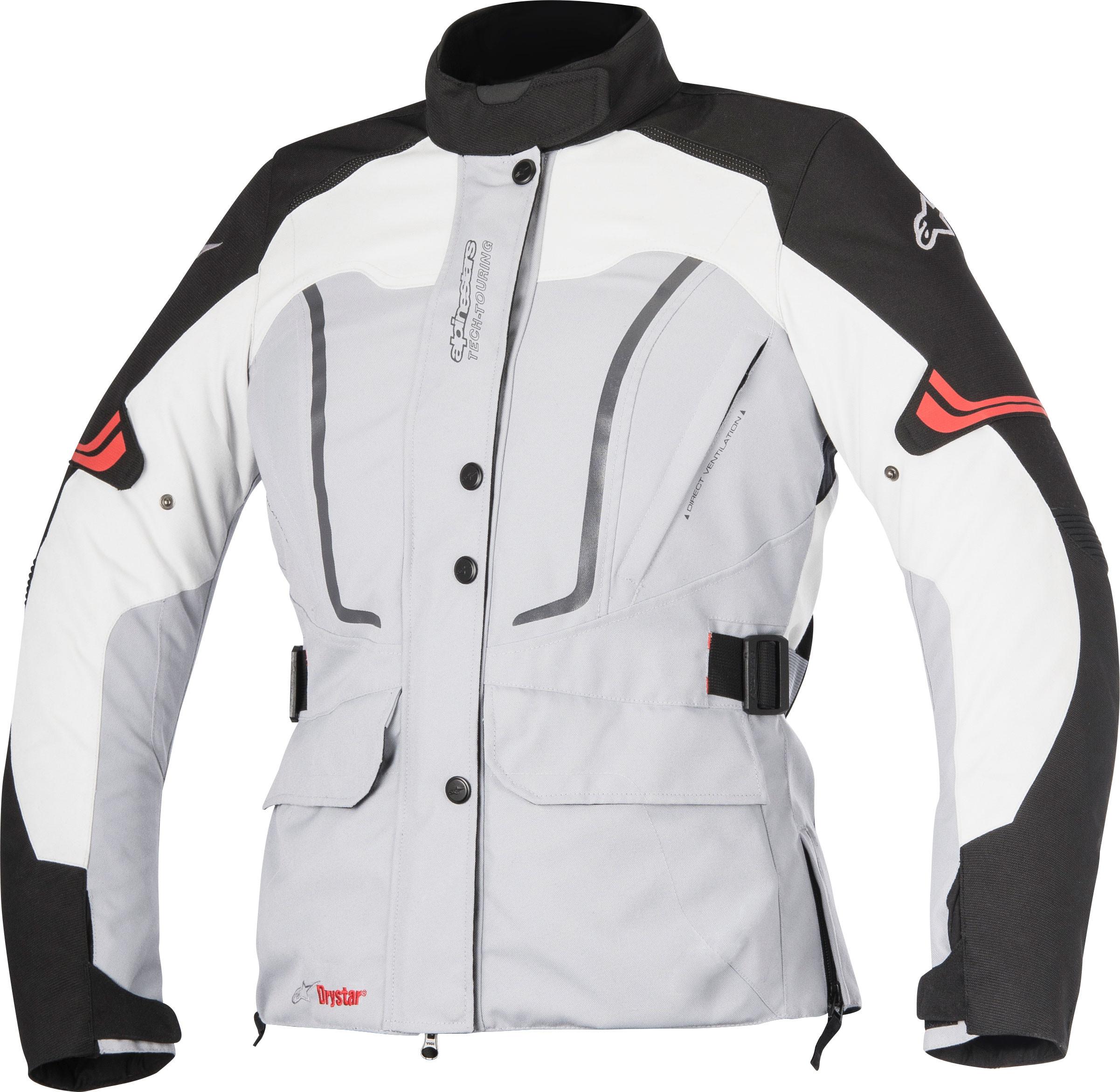 Giacca moto donna Alpinestars Stella Vence Drystar grigio nero